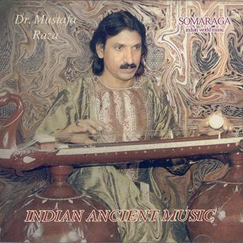 Dr. Mustafa Raza - Vichitra Vina, studio recording (Italy)